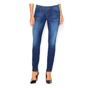Guess Power Curvy Mid Rise Skinny Jeans